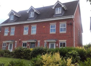 Thumbnail 3 bed town house to rent in Carty Road, Hamilton, Leicester