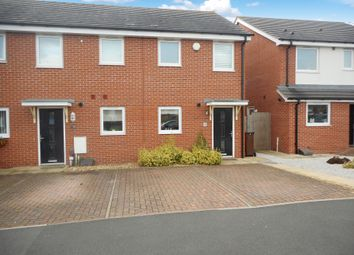 Thumbnail 2 bedroom end terrace house for sale in Oval Drive, Fordhouses, Wolverhampton