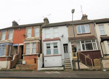 Thumbnail 3 bed terraced house for sale in Barnsole Road, Gillingham, Kent.