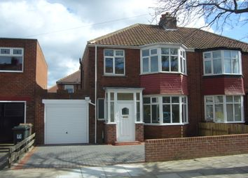 Thumbnail 3 bed semi-detached house to rent in Langley Avenue, Whitley Bay