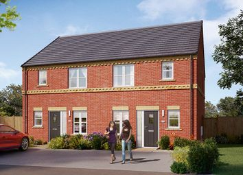"Thumbnail 3 bed semi-detached house for sale in ""The Hamilton"" at Carr Green Lane, Mapplewell, Barnsley"