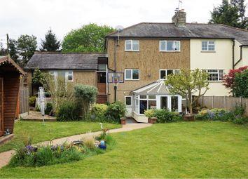 Thumbnail 3 bed semi-detached house for sale in Pye Corner, Sawbridgeworth