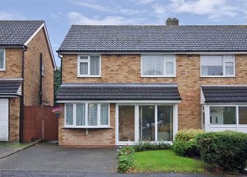 Thumbnail 3 bed semi-detached house for sale in Garrick Road, Lichfield