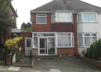 Thumbnail 3 bedroom semi-detached house to rent in Stanford Avenue, Great Barr, Birmingham