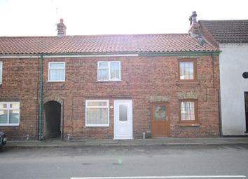 Thumbnail 2 bedroom terraced house for sale in High Street, Billinghay, Lincoln
