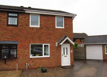 Thumbnail 2 bed semi-detached house for sale in Caldeford Avenue, Monkspath, Solihull