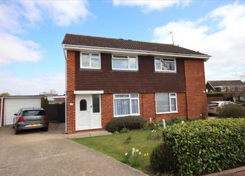 Thumbnail 3 bed semi-detached house for sale in Chesley Close, Worthing