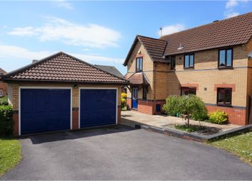 Thumbnail 4 bed detached house for sale in Llanmead Gardens, Rhoose
