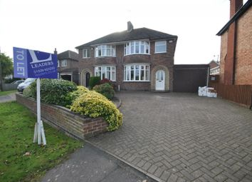 Thumbnail 3 bed semi-detached house to rent in Leicester Road, Quorn, Loughborough