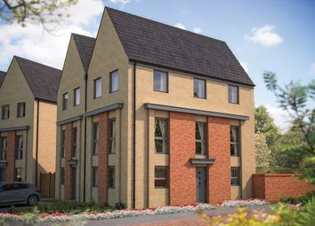"Thumbnail 3 bedroom semi-detached house for sale in ""The Woodbridge"" at Ribbans Park Road, Ipswich"
