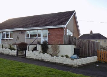 Thumbnail 1 bed semi-detached bungalow for sale in Darren Road, Briton Ferry, Neath, Neath Port Talbot.