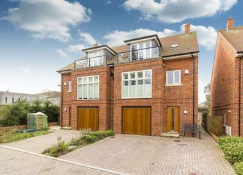 Thumbnail 4 bed semi-detached house for sale in Castle Mews, Folkestone