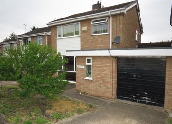 Thumbnail 3 bedroom detached house for sale in Colebrook Close, Evington, Leicester