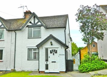 Thumbnail 3 bed semi-detached house to rent in Malling Road, Teston, Maidstone