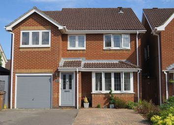Thumbnail 4 bed detached house for sale in Hedgerow Close, Rownhams, Southampton
