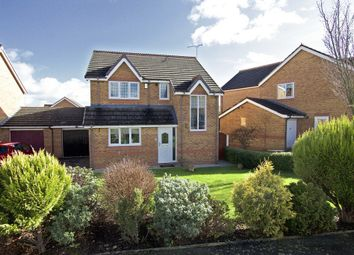 Thumbnail 3 bed detached house for sale in Blackbrook Drive, Ruabon, Wrexham