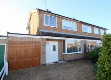 Thumbnail 3 bed semi-detached house to rent in Chatsworth Road, Stamford