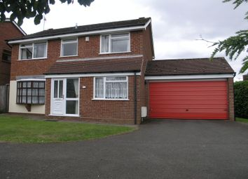 Thumbnail 4 bed detached house for sale in Kent Road, Halesowen