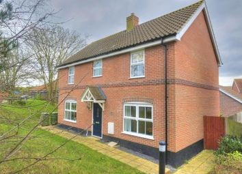 Thumbnail 4 bed detached house for sale in Reeds Way, Norwich