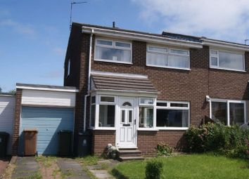 Thumbnail 3 bed semi-detached house for sale in Glencoe, Killingworth, Newcastle Upon Tyne