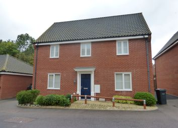 Thumbnail 4 bed detached house for sale in Foxhouse Road, Costessey, Norwich