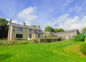 Thumbnail 4 bed detached house for sale in Llanystumdwy, Criccieth, Gwynedd