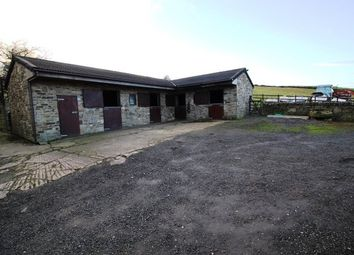 Thumbnail 4 bed equestrian property for sale in Cross Cliffe, Glossop