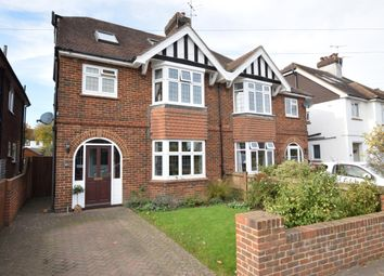 Thumbnail 5 bed semi-detached house for sale in East Cliff Road, Tunbridge Wells, Kent
