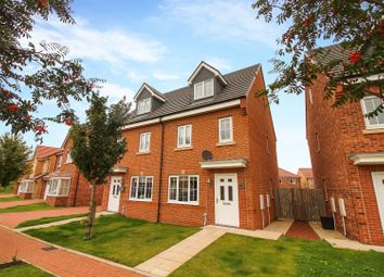 Thumbnail 3 bed semi-detached house for sale in Palladian Walk, Seaton Delaval, Whitley Bay