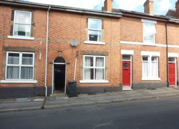 Thumbnail 4 bed terraced house to rent in Longford Street, Derby