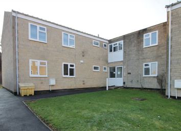 Thumbnail 2 bed flat for sale in Meadow Close, Cirencester, Gloucestershire.
