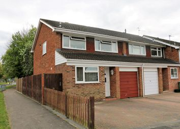 Thumbnail 3 bedroom end terrace house for sale in Purcell Close, Brighton Hill, Basingstoke