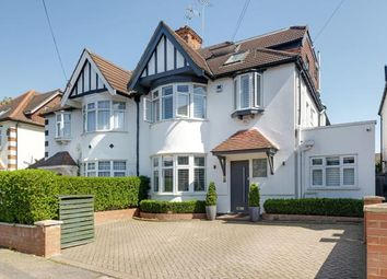 Thumbnail 5 bed semi-detached house for sale in Holly Park Gardens, Finchley, London