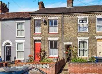 Thumbnail 3 bedroom terraced house for sale in Connaught Road, Norwich