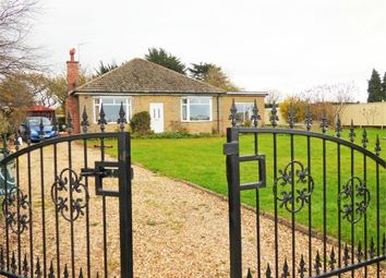 Thumbnail 4 bed detached bungalow for sale in Elton Road, Stibbington, Peterborough, Cambridgeshire