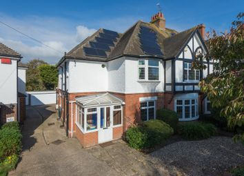 Thumbnail 6 bed semi-detached house for sale in Broadfield Crescent, Folkestone