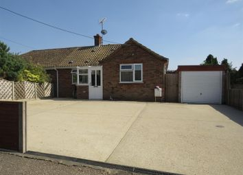 Thumbnail 3 bed semi-detached bungalow for sale in Doddshill Road, Dersingham, King's Lynn