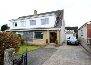 Thumbnail 3 bed semi-detached house for sale in Prospect Way, Ballygowan, Newtownards