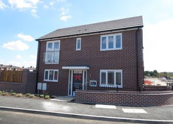 Thumbnail 3 bed detached house for sale in The Kea, Victoria Park, Stoke