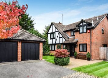 Thumbnail 4 bed detached house for sale in Raeburn Way, College Town, Sandhurst, Berkshire
