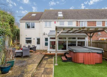 Thumbnail 4 bed end terrace house for sale in Saxon Leas, Winterslow, Salisbury
