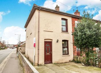 Thumbnail 2 bedroom end terrace house for sale in Neatherd Road, Dereham