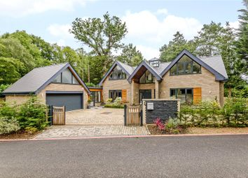Thumbnail 5 bed detached house for sale in Meadow Road, Virginia Water, Surrey