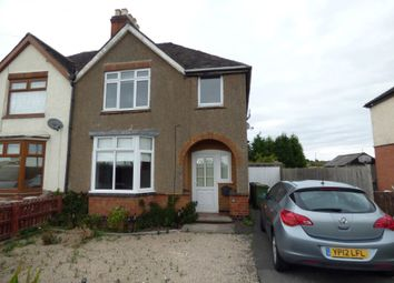 Thumbnail 3 bed semi-detached house to rent in Measham Road, Acresford, Swadlincote