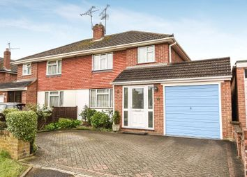 Thumbnail 3 bed semi-detached house for sale in Cottesmore Road, Woodley, Reading