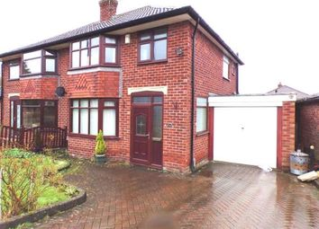 Thumbnail 3 bed semi-detached house for sale in Pennine Road, Woodley, Stockport, Cheshire