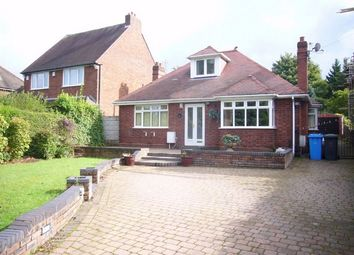 Thumbnail 3 bed detached bungalow for sale in Cannock Road, Westcroft, Wolverhampton, Staffordshire