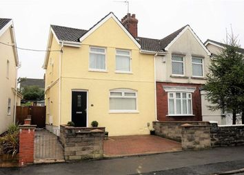 Thumbnail 3 bed semi-detached house for sale in Oak Street, Swansea