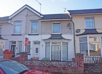 Thumbnail 3 bed terraced house for sale in Station Road, Ystrad Mynach