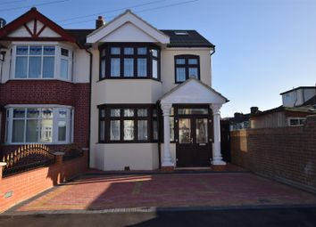 Thumbnail 6 bed end terrace house for sale in Norbury Gardens, Chadwell Heath, Romford